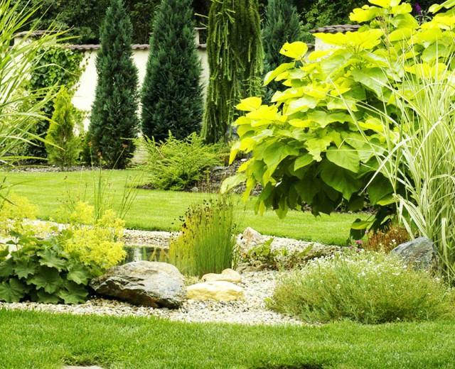 Un jardin propre